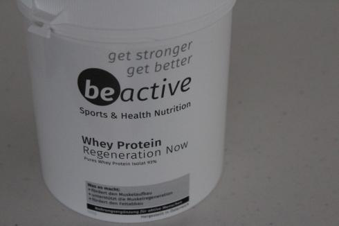 Be Active Whey Isolat 93% Whey Protein