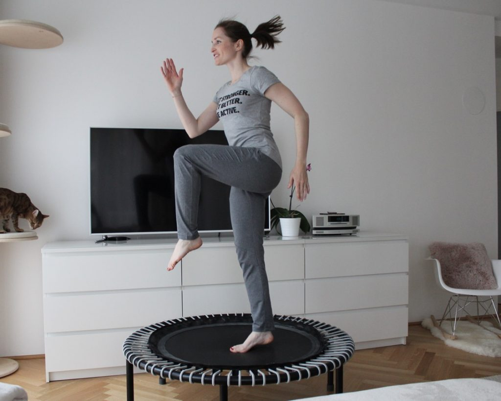 Trampolin Workout am bellicon