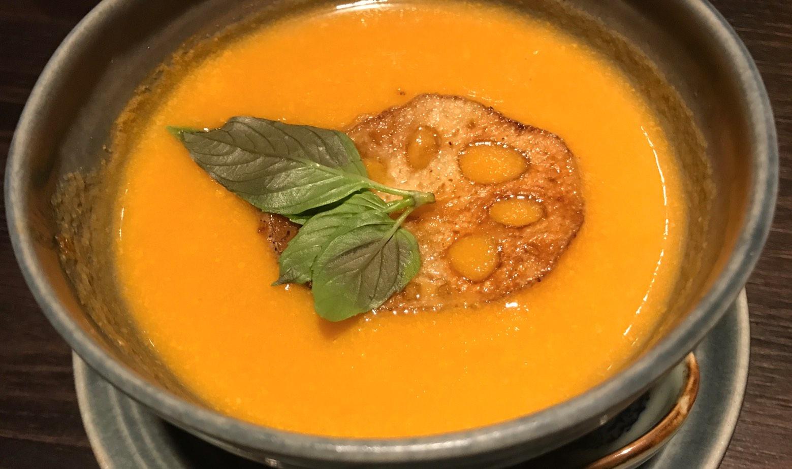 Suppe Süßkartoffeln