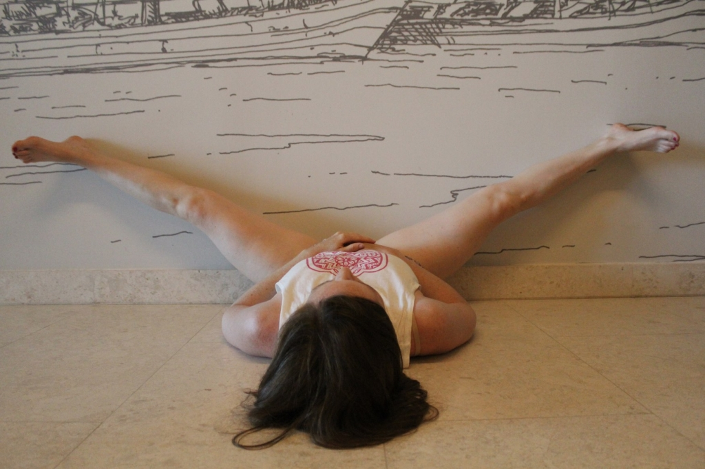 Wall Yin Yoga