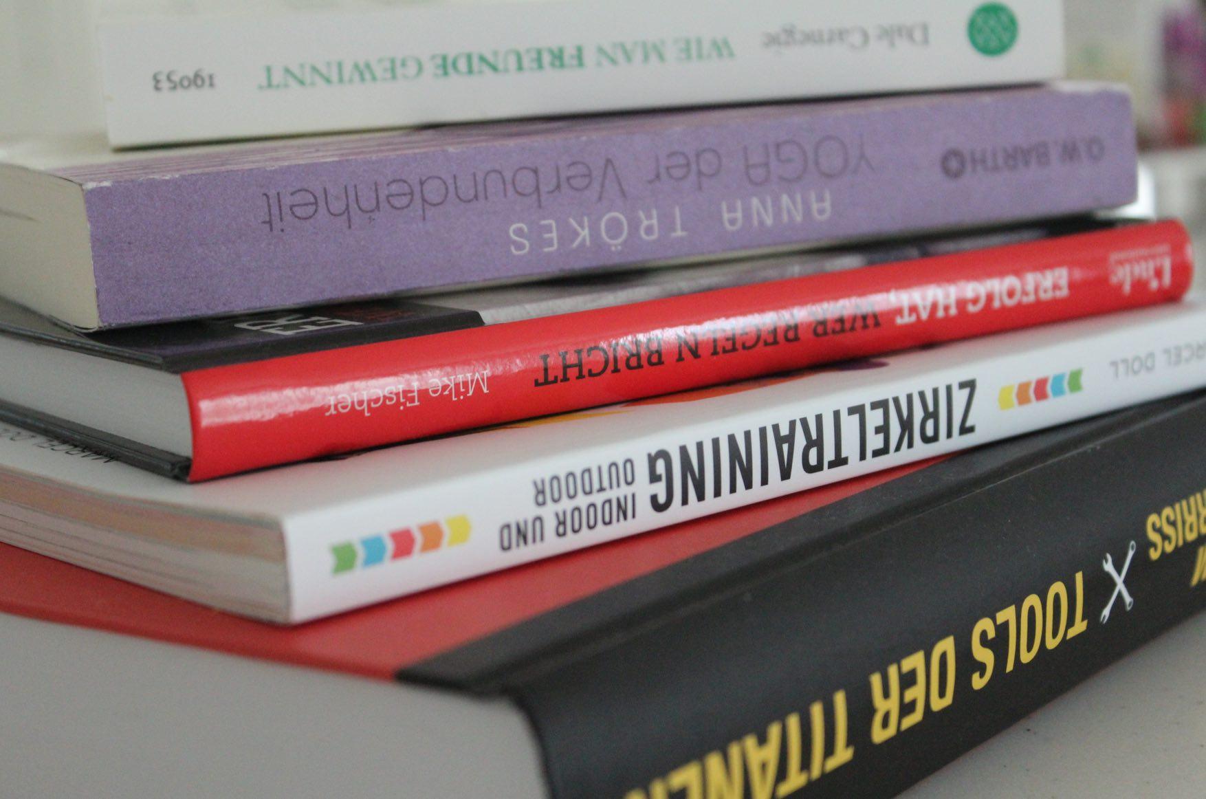 Buchempfehlungen für neue Inspiration und Motivation