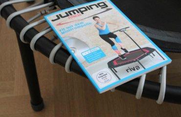 Verlosung Minitrampolin Training Buch