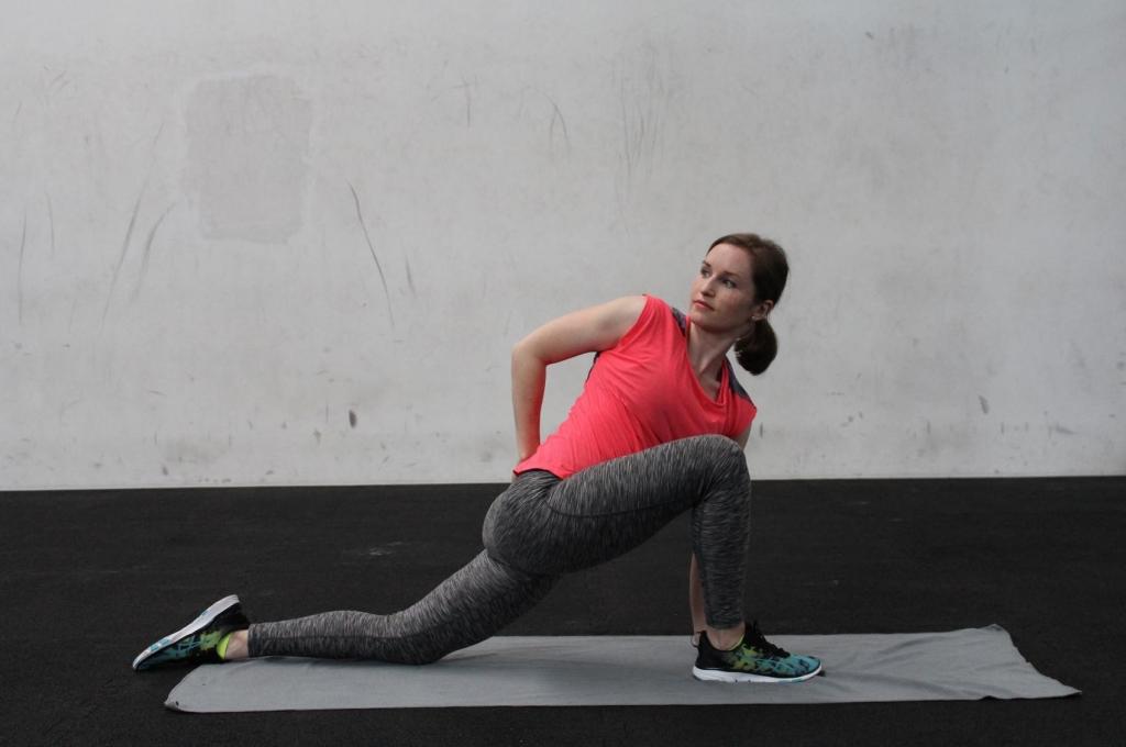 Stretching für Läufer Iliopsoas