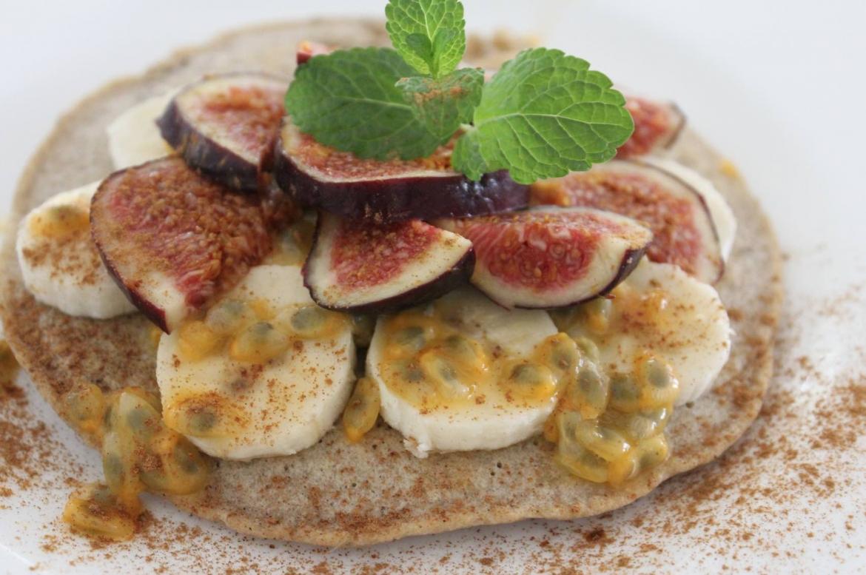 glutenfreie Pfannkuchen Buchweizen Pancakes