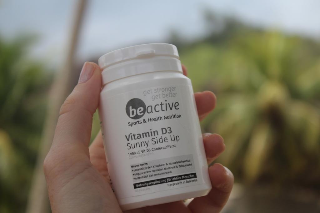 Vitamin D3 Nahrungsergänzung hergestellt in Österreich kleine Kapseln
