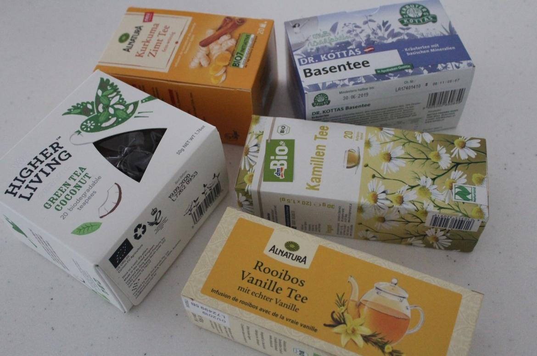 Gesund leben Tee trinken gesunde Teesorten