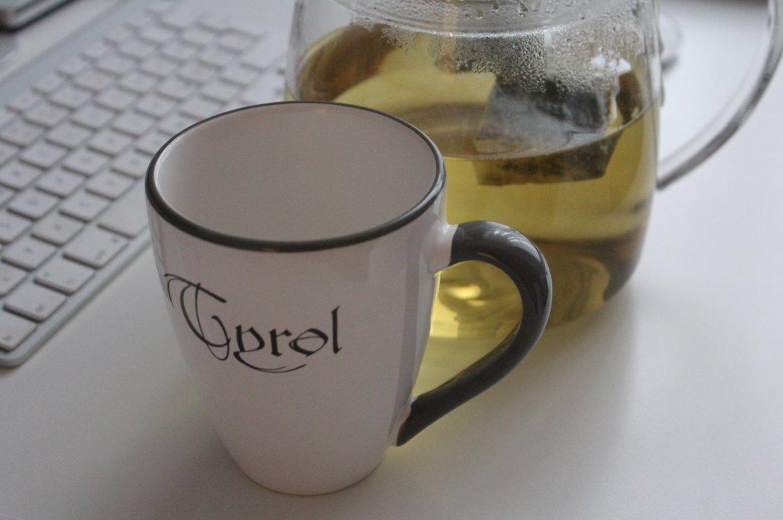 Fasten Tee trinken