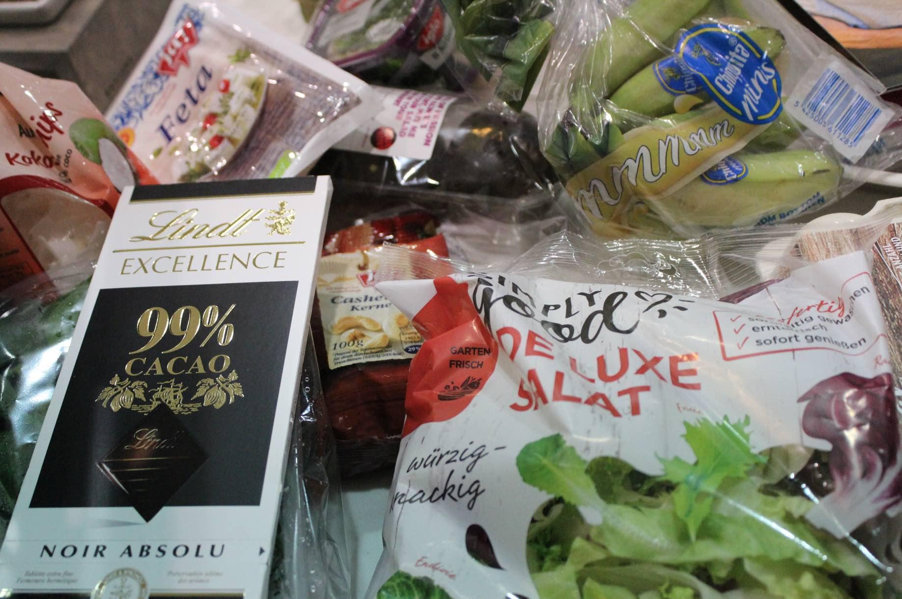Einkaufen gesund essen