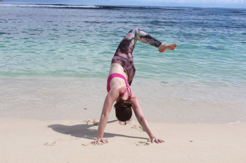 Yoga indischer Ozean
