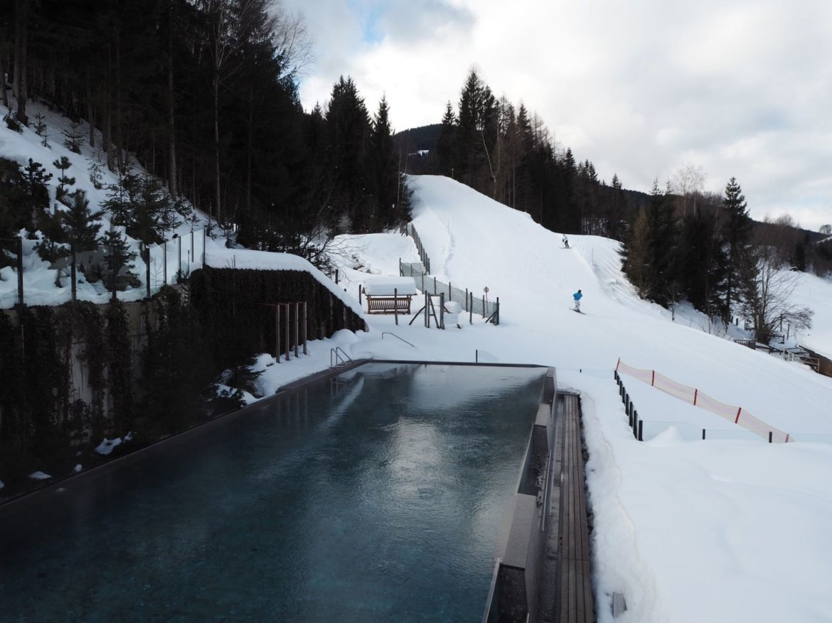 Pool Leogang Winter