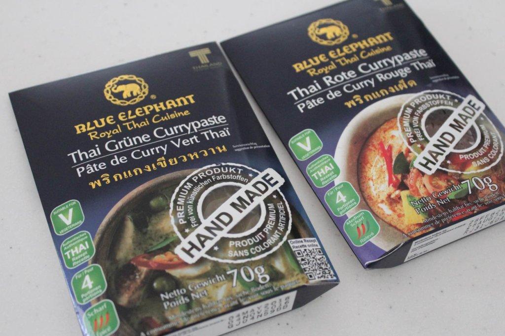 Currypasten