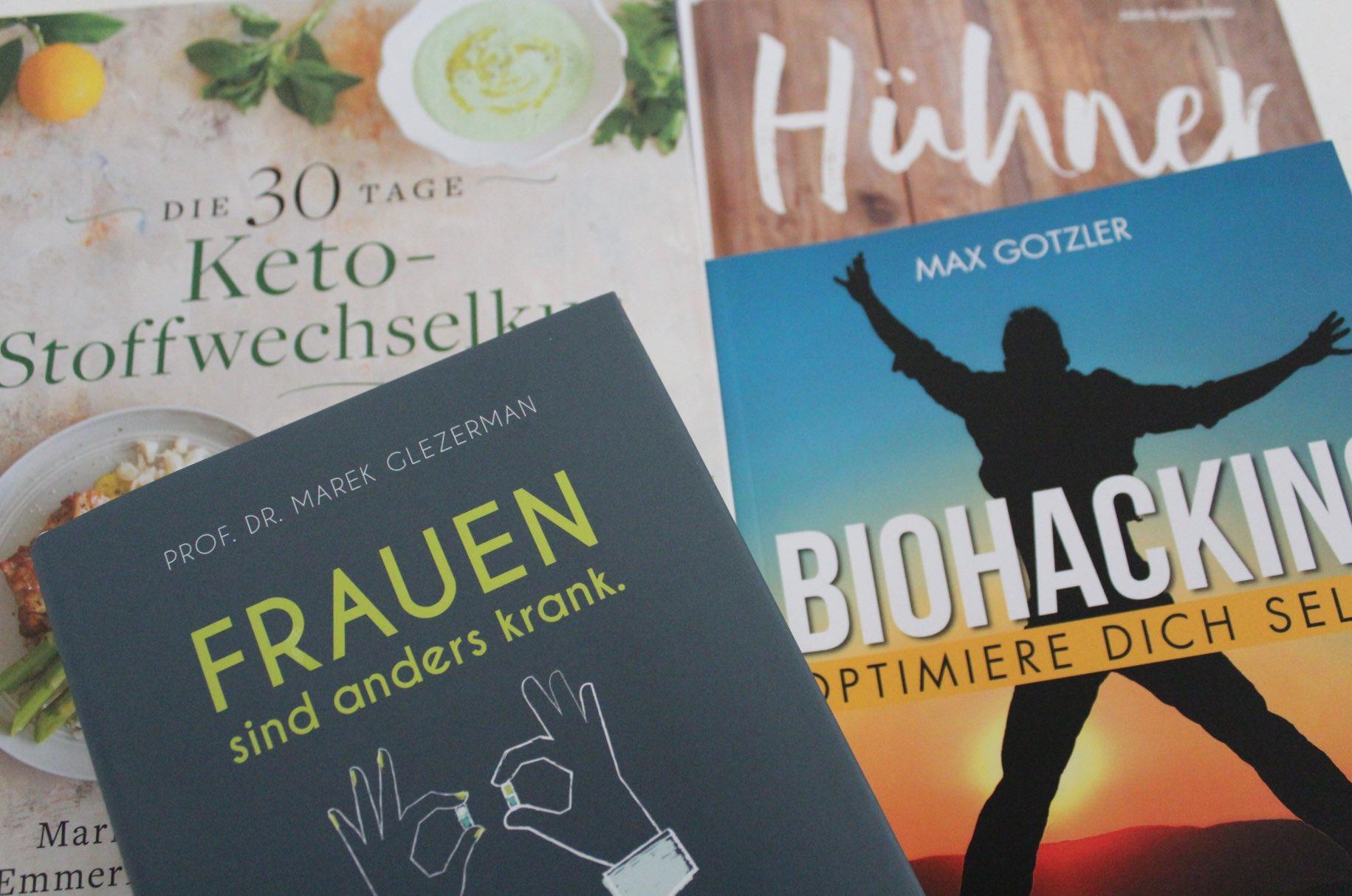 Neue Bücher im Frühling Lesen