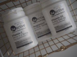 Nahrungsergänzungsmittel Vitamin C Magnesium Vitamin D3