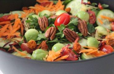 täglich Salat essen