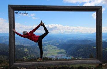 Herbst Yoga Seen Natur Österreich
