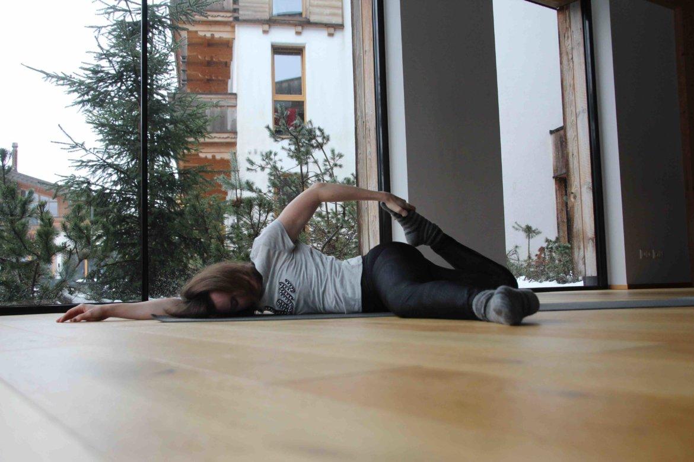 Yin Yoga Entspannung loslassen