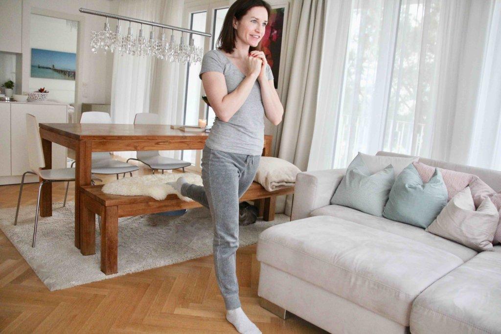 Bulgarian Split Squat zuhause trainieren