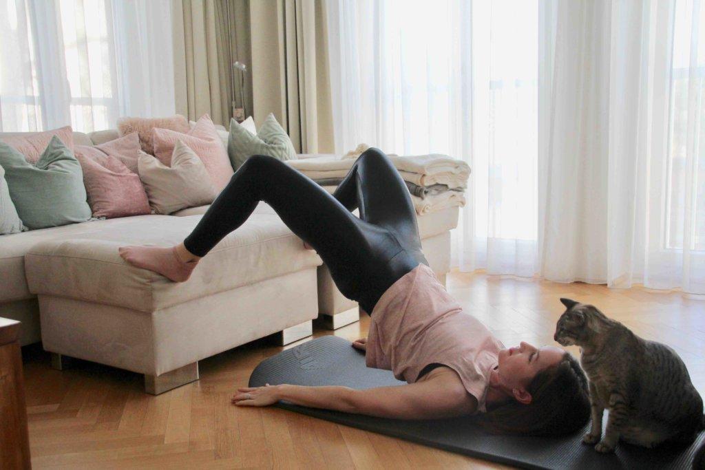Beckenheben Booty Workout