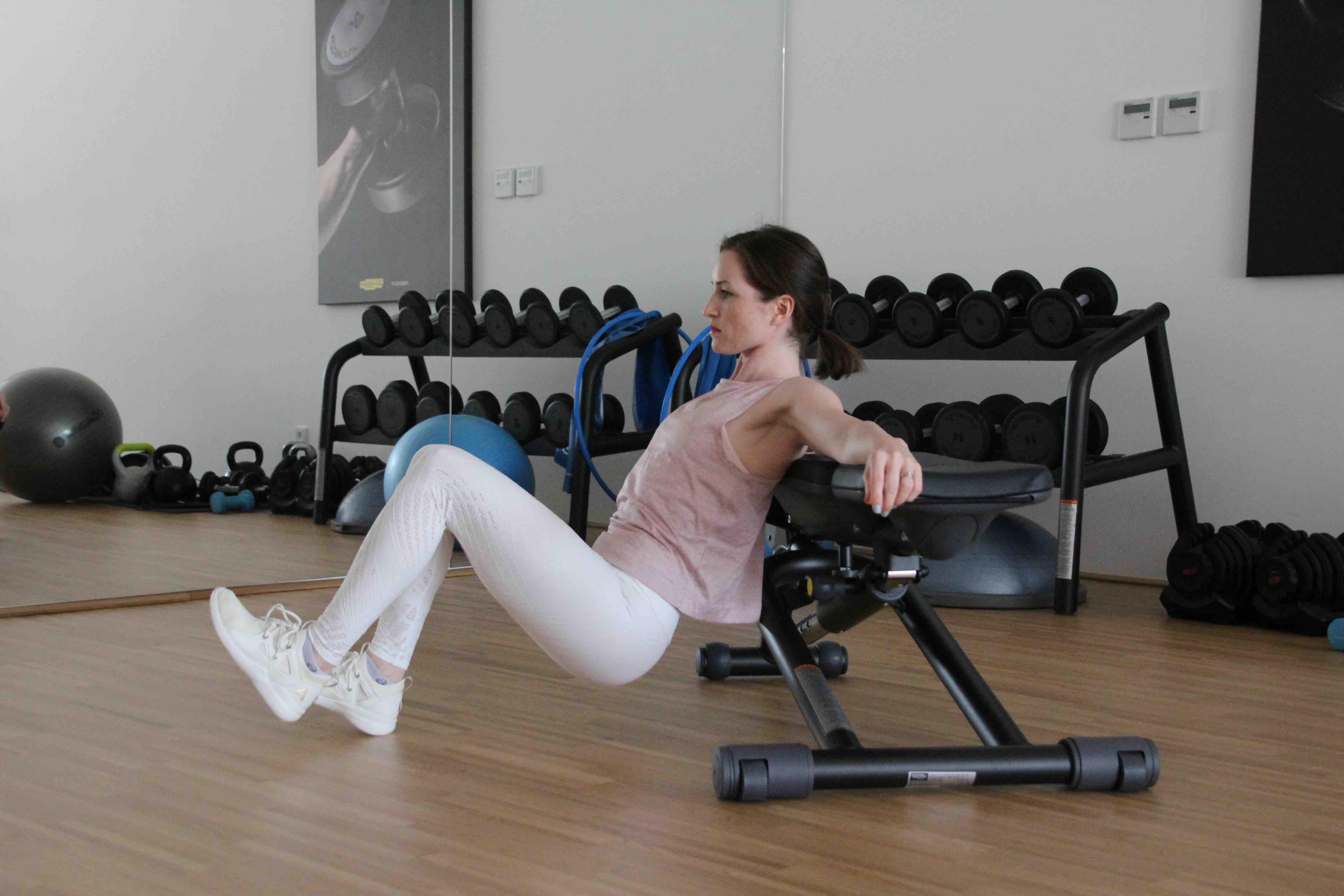 Hip Thrust mit einem Bein