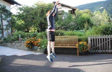 Sprünge Plyo Übung für straffe Beine