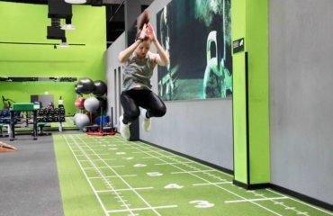 Sprünge Workout Übungen