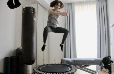 bellicon Trampolin Training