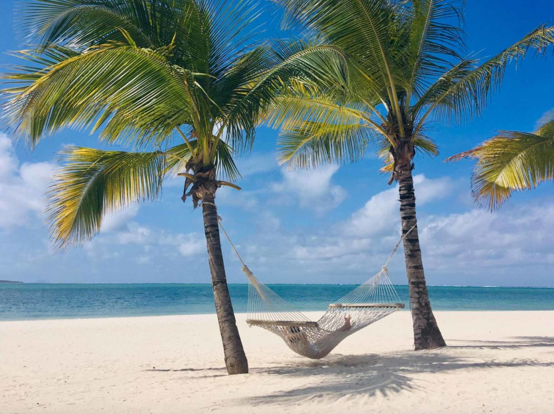 Mauritius Hängematte Entspannung