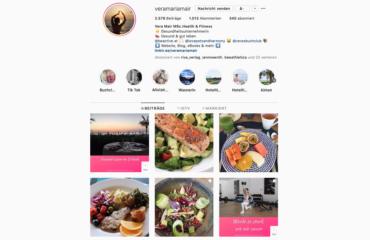 Instagram gesunde Ernährung Abnehmen