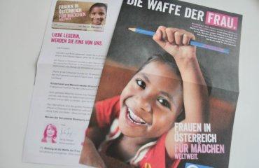 Spenden Patenschaft für Mädchen