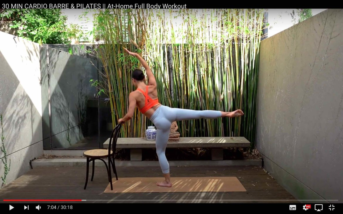 Tipp Move with Nicole Barre Pilates Workouts online