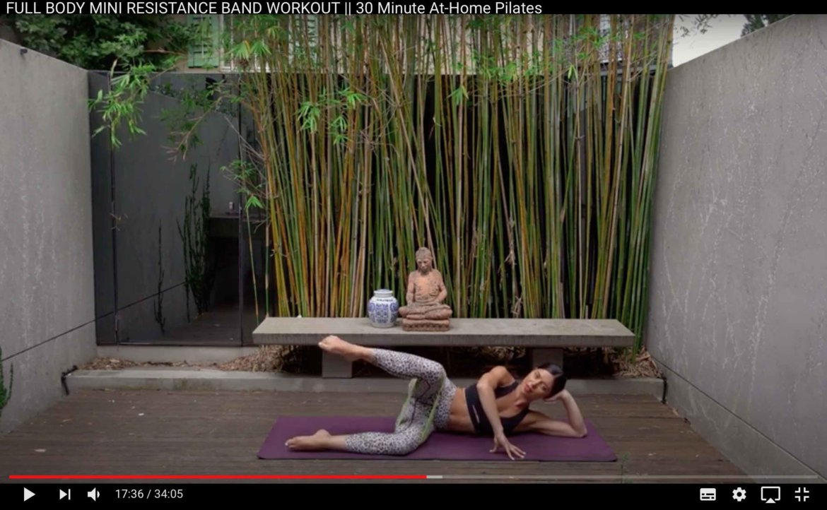 Pilates Barre Yoga HIIT YouTube Tipp