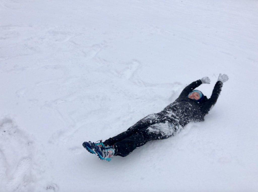 Spaß im Schnee Winter