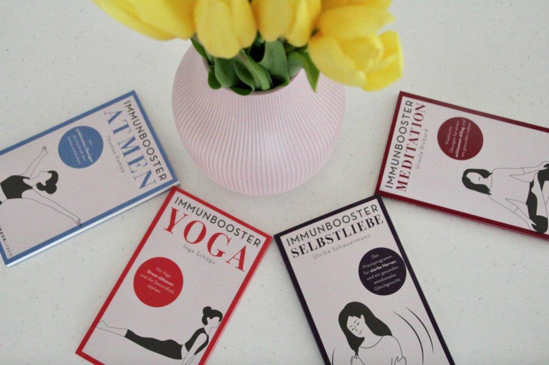 Buchtipps Bücher Meditation Achtsamkeit Yoga Atmung Selbstliebe Selbstfürsorge