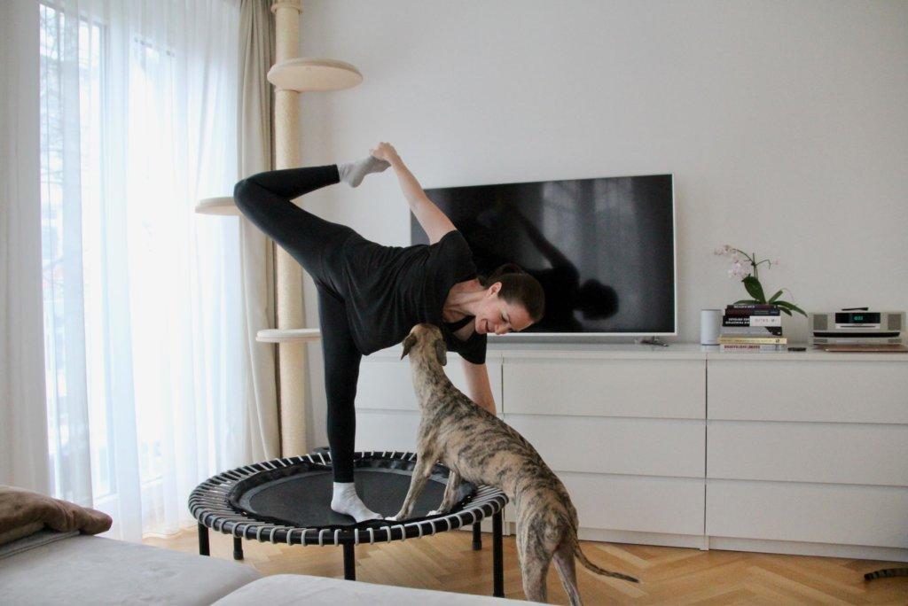 Yoga bellicon Minitrampolin