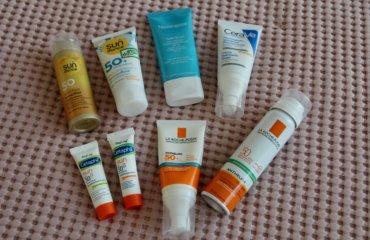 Sonnenschutz Gesicht Creme