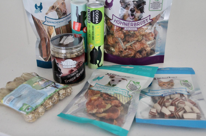 Gesunde Snacks für Katze und Hund Zooplus
