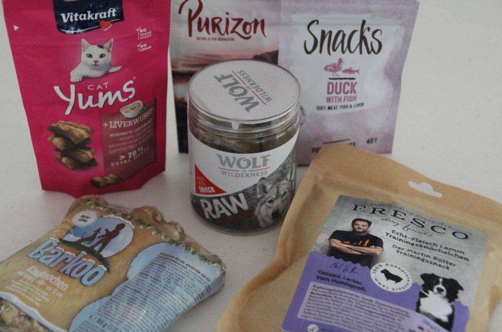 Zooplus Snacks Katze Hund gesund