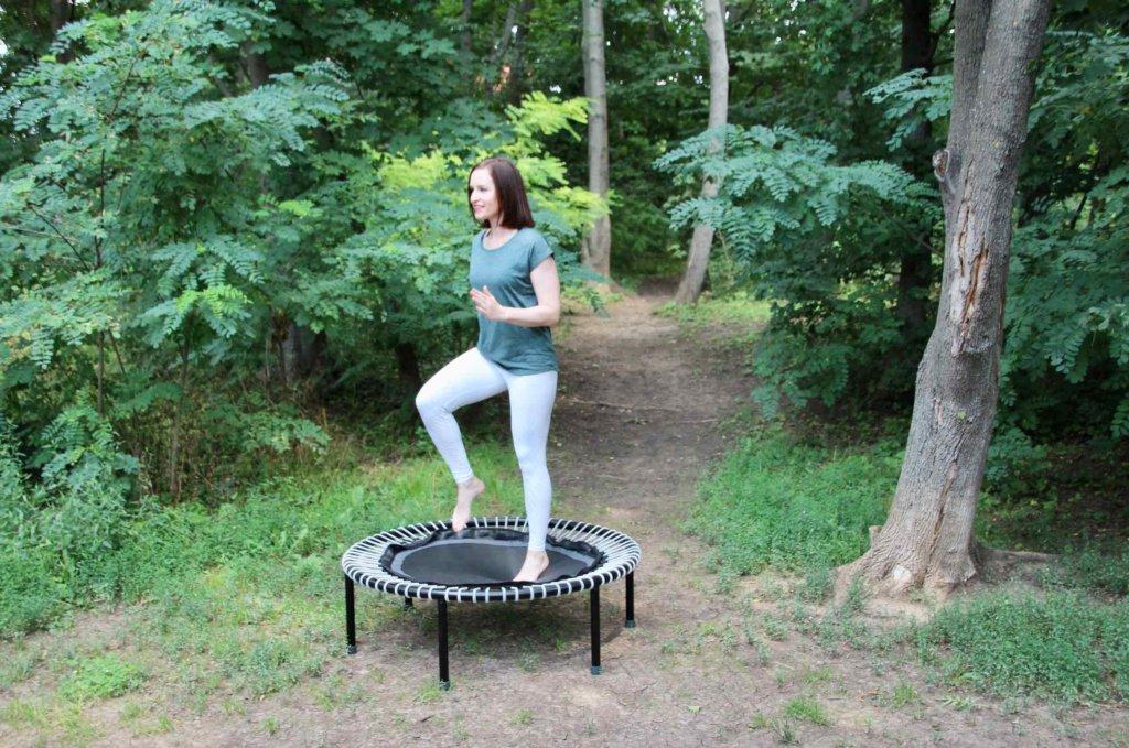 Übungen fürs Trampolin